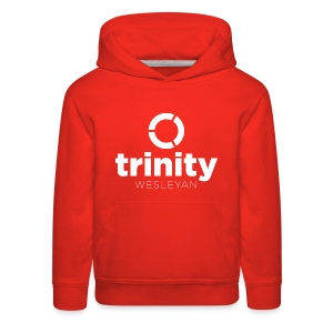 Trinity Centered white - Kids' Premium Hoodie