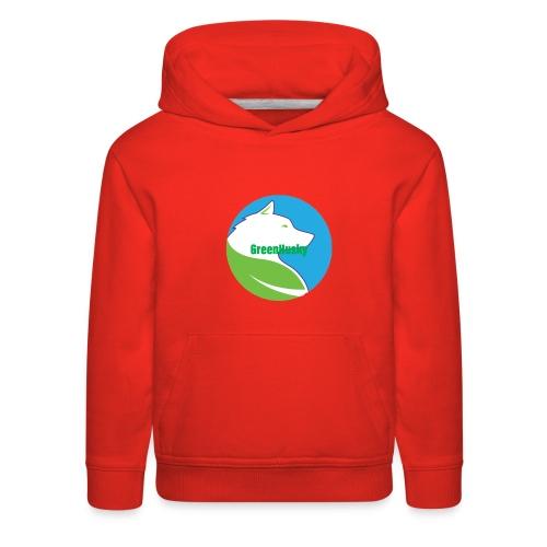 Greenhusky symbol - Kids' Premium Hoodie