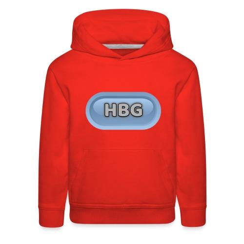 HBG CIRCLE DESIGN - Kids' Premium Hoodie