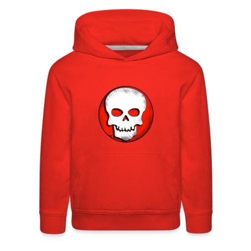 Skull Zone Logo - Kids' Premium Hoodie