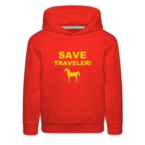 Save Traveler - Kids' Premium Hoodie