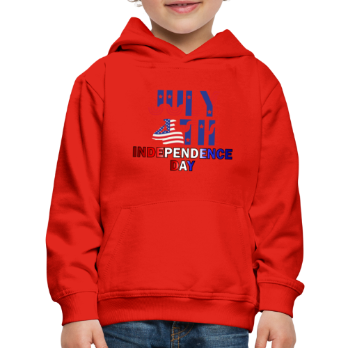 UNIQUE DESIGN 4th OF JULY T-SHIRTS - Kids' Premium Hoodie