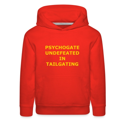 Undefeated In Tailgating - Kids' Premium Hoodie