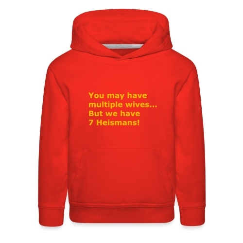 Multiple Wives - Kids' Premium Hoodie