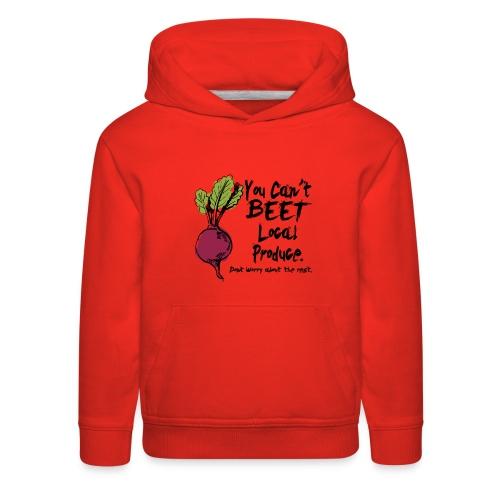 You can't beet copy - Kids' Premium Hoodie