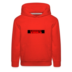Black And Red Logo - Kids' Premium Hoodie