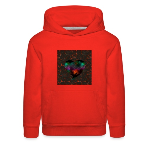 Heart of fire - Kids' Premium Hoodie