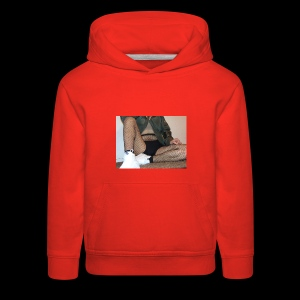 self modeled - Kids' Premium Hoodie
