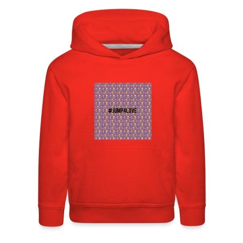 Jump4Love - Kids' Premium Hoodie