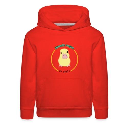 Vegan Duck - Kids' Premium Hoodie