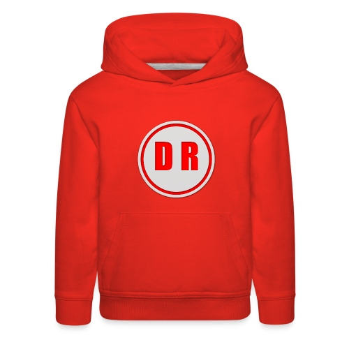 Tis is doctor c logo on youtube - Kids' Premium Hoodie