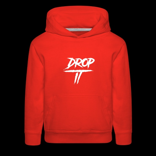 DROP IT Original Logo - Kids' Premium Hoodie