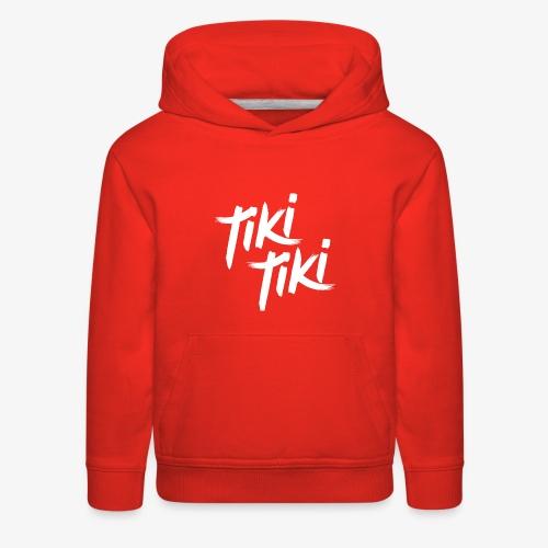 Tiki Tiki logo - Kids' Premium Hoodie