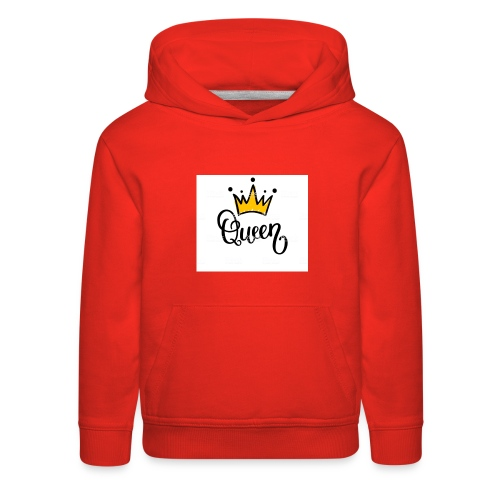 Queen crown design ( desinged by : Malk Queen - Kids' Premium Hoodie