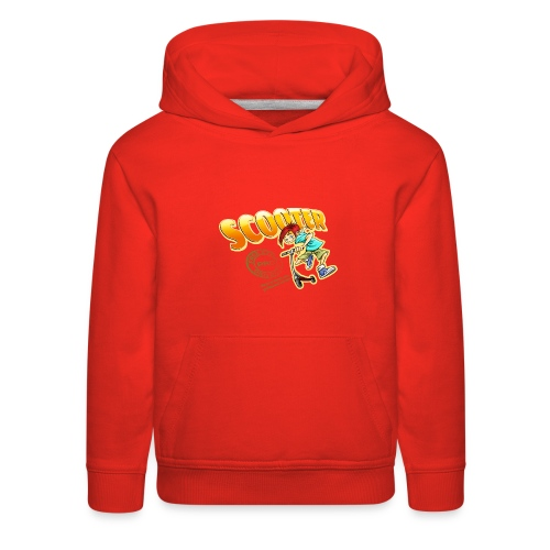 Scooter Boy New Design - Kids' Premium Hoodie