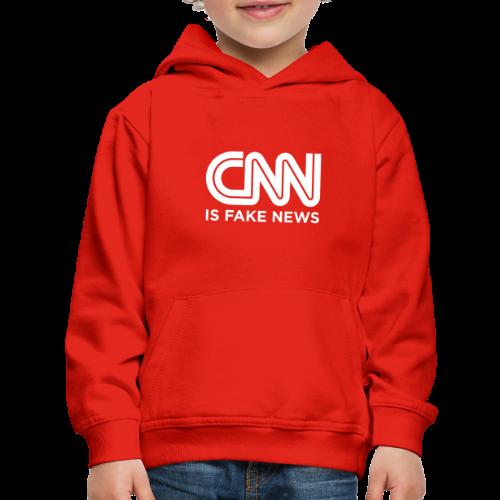 CNN Is Fake News - Kids' Premium Hoodie