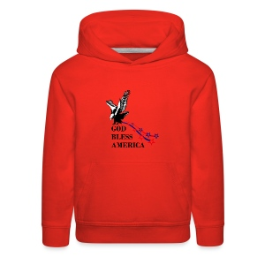 CUSTOM DESIGN GOD BLESS AMERICA - Kids' Premium Hoodie