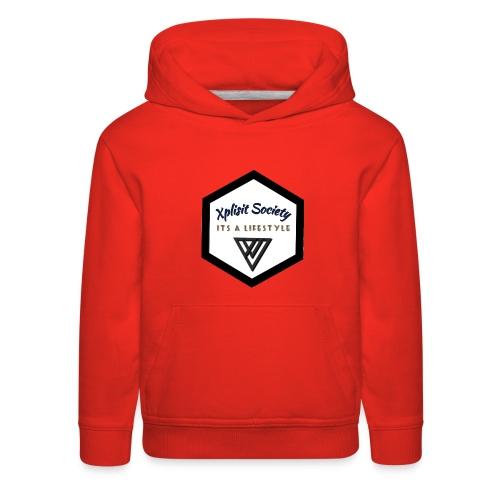 Xplisit Society - Kids' Premium Hoodie