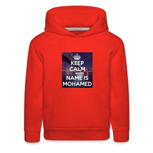 keep calm my name is mohamed 4 - Kids' Premium Hoodie