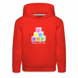 Play With Me (version white) - Kids' Premium Hoodie