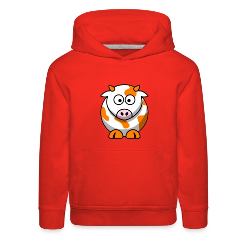 Orange Cow - Kids' Premium Hoodie