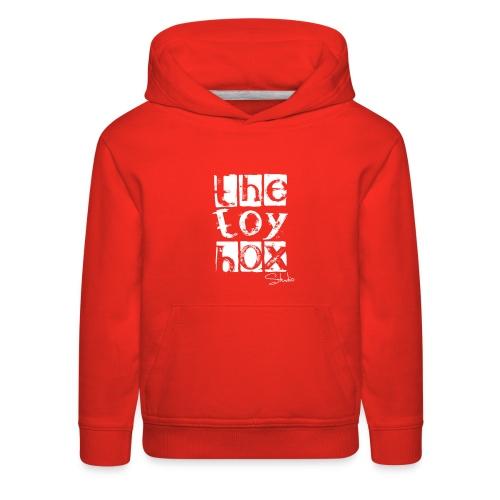 The Toy box Studio - White Logo - Kids' Premium Hoodie