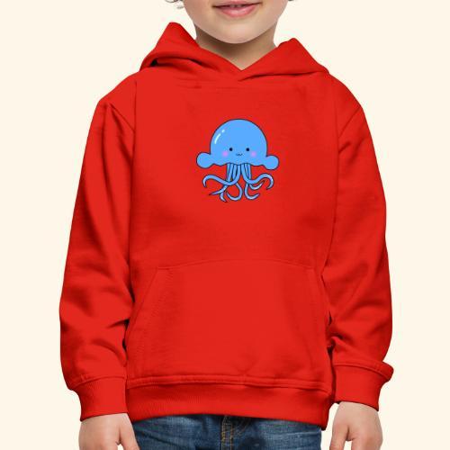 Cute squid - Kids' Premium Hoodie