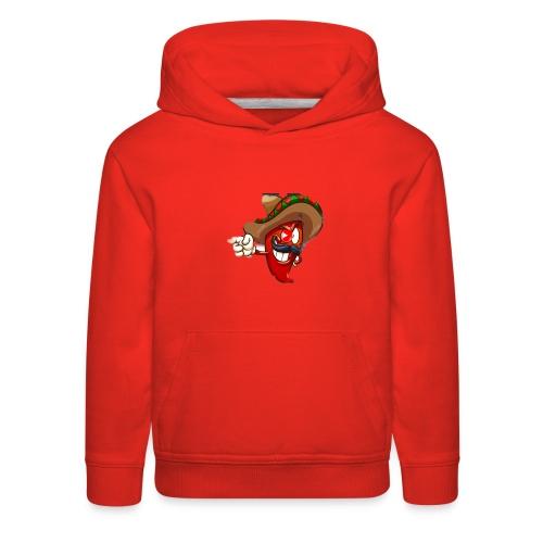 Slappy Pepper Logo - Kids' Premium Hoodie