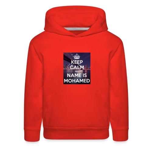 keep calm my name is mohamed 4 - Kids' Premium Hoodie