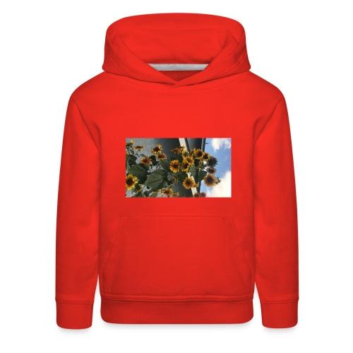 sunflower shirt - Kids' Premium Hoodie