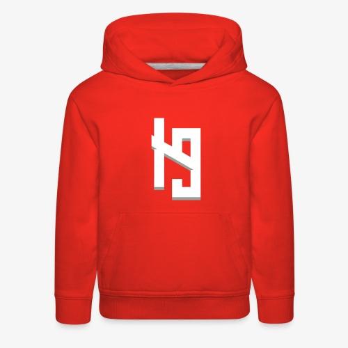 IronPrime9 Text Logo - Kids' Premium Hoodie