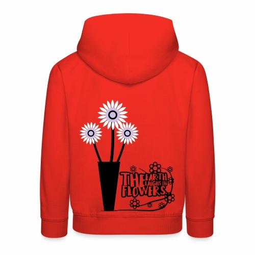 the flower - Kids' Premium Hoodie