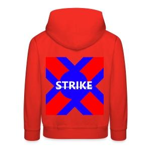 STRIKE X CROSS - Kids' Premium Hoodie