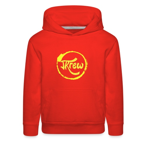 The Official JKrew Logo - Kids' Premium Hoodie
