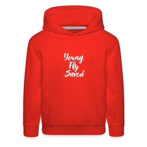 Young Fly Saved - Kids' Premium Hoodie