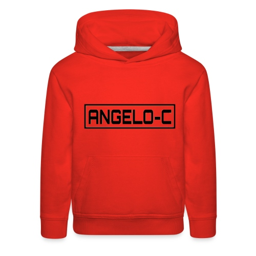 red angelo clifford shirt - Kids' Premium Hoodie
