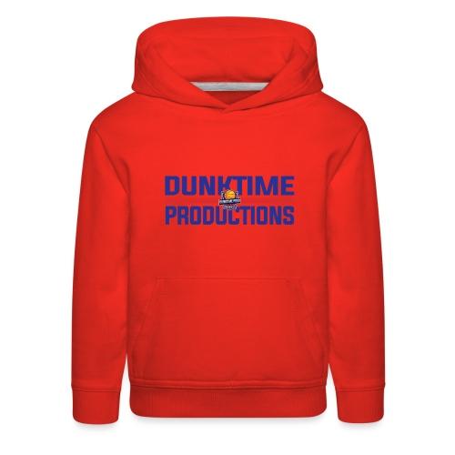 DUNKTIME Retro logo - Kids' Premium Hoodie