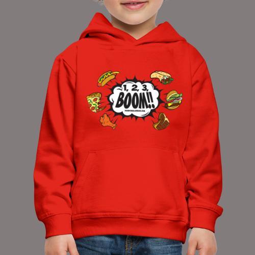123_BOOM_FINAL Spreadshir - Kids' Premium Hoodie