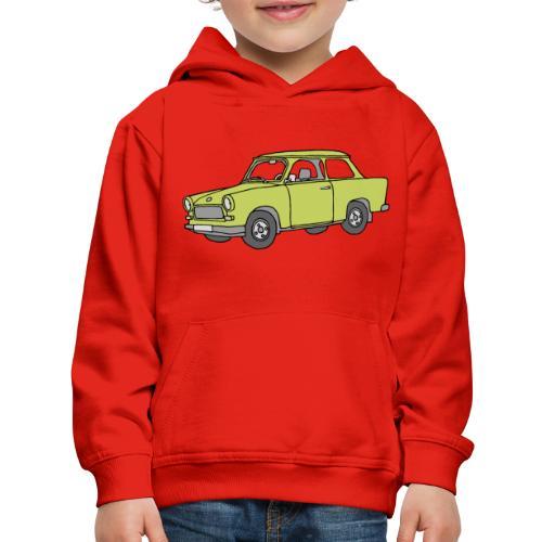 Trabant (baligreen car) - Kids' Premium Hoodie