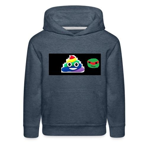 ninja poop - Kids' Premium Hoodie