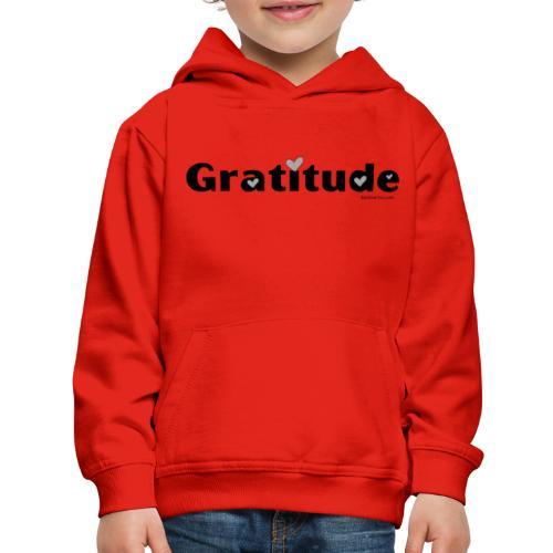 Gratitude - Kids' Premium Hoodie