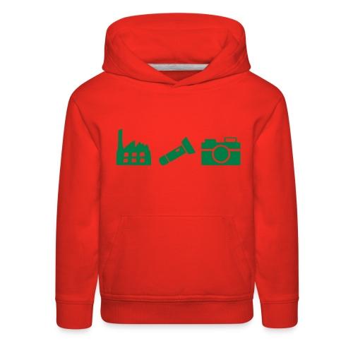 DCUE_Icons_Small - Kids' Premium Hoodie
