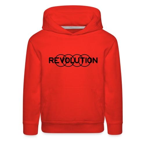 Revolution Black Logo - Kids' Premium Hoodie