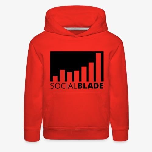 SB Blackout Logo - Kids' Premium Hoodie