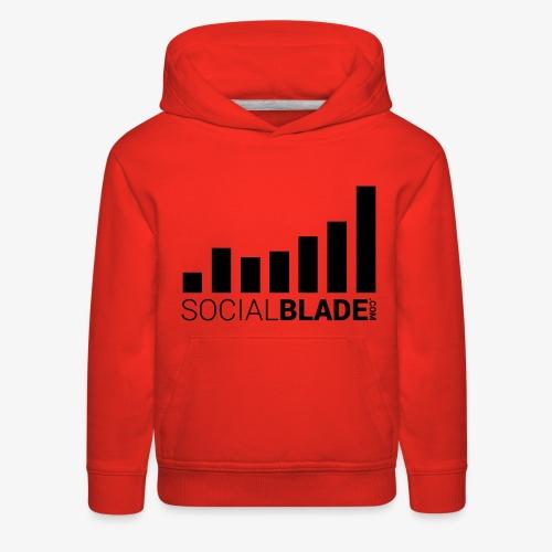 Socialblade (Dark) - Kids' Premium Hoodie