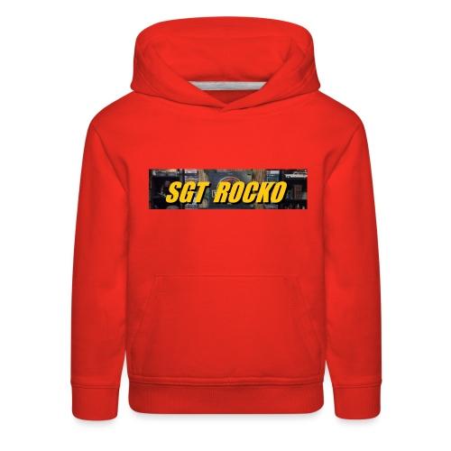 RockoWear Banner - Kids' Premium Hoodie