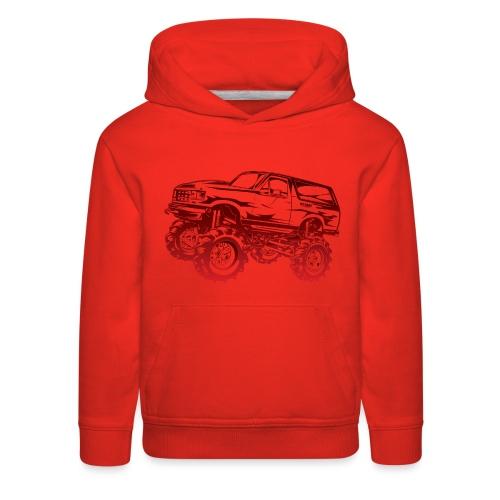 Mega Mud Ford Bronco Red - Kids' Premium Hoodie