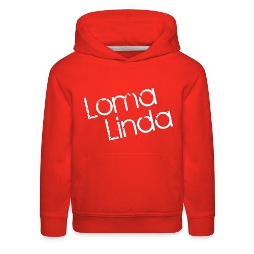 lomalinda white - Kids' Premium Hoodie