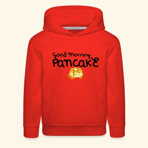 Good Morning Pancake Mug - Kids' Premium Hoodie
