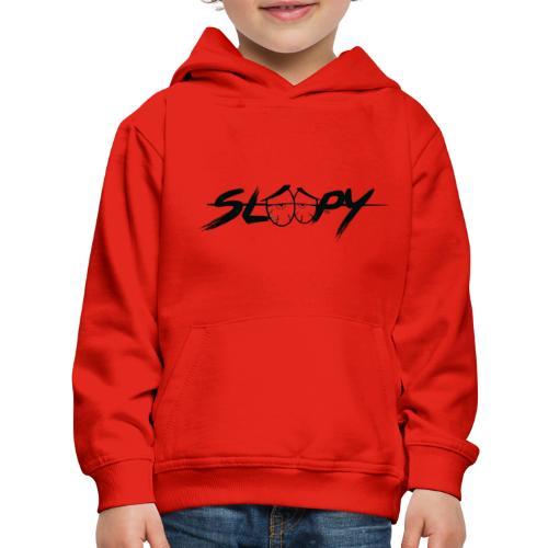 Sleepy Logo Black - Kids' Premium Hoodie